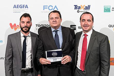 Activais del Grupo Bureau Veritas, ganadora del premio AEGFA a la Gestión Eficiente de la Flota con tecnología de TomTomTelematics