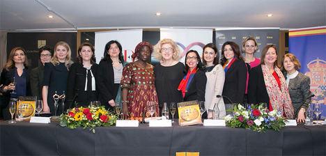 Mujeres Avenir denuncia la escasa presencia femenina en el cuerpo diplomático mundial en la Conferencia Internacional sobre Mujer y Diplomacia