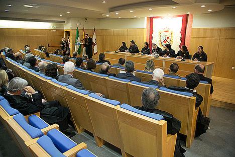 Javier González de Lara recibe la Medalla de Honor del Colegio de Abogados de Málaga