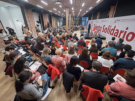 Acto de lanzamiento X edición Talento Solidario.