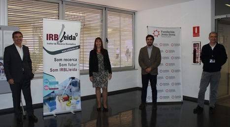 Fundación Jesús Serra y el IRBLleida crean un programa de acompañamiento para dar apoyo a profesionales noveles del ámbito biomédico