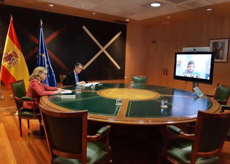 El Gobierno y los operadores de telecomunicaciones firman un acuerdo por el que amplían las medidas para garantizar la conectividad de las personas y las empresas