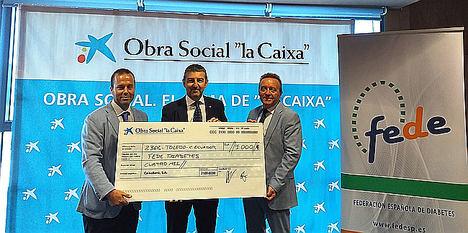 """La Obra Social """"La Caixa"""" respalda el proyecto de becas de FEDE para campamentos de niños con diabetes"""