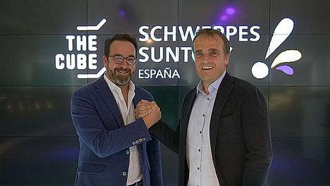 Schweppes Suntory España y THECUBE Madrid apuestan por la innovación abierta y el ecosistema emprendedor
