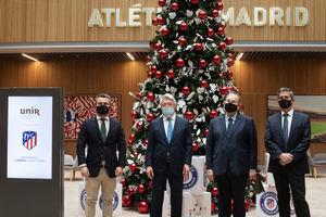 UNIR y Atlético de Madrid desarrollan juntos un MBA especializado en Entidades Deportivas