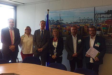 Unión de Uniones traslada a la CE en Bruselas su preocupación por Mercosur y otros acuerdos con terceros países