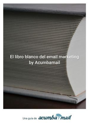 Acumbamail presenta su libro blanco del email marketing