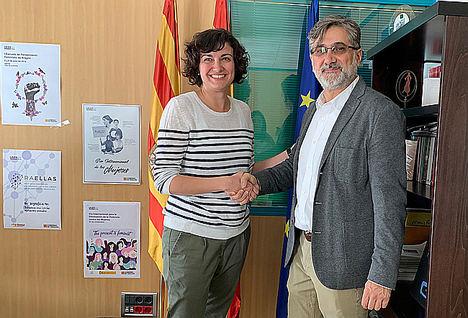 ADAMS Formación y el Instituto Aragonés de la Mujer renuevan su compromiso con las mujeres víctimas de violencia de género