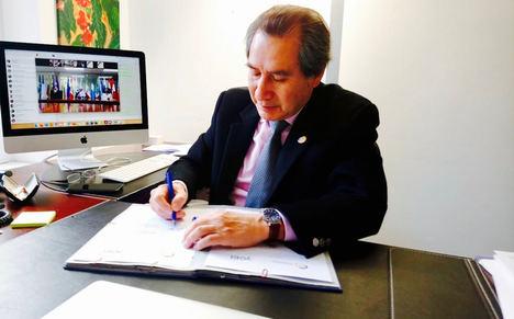 Adrián Bonilla, Fundación EU-LAC.