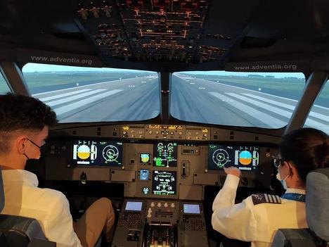 Adventia da pistoletazo de salida a su curso de 300h de vuelo