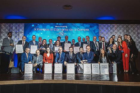 AERCE premia la innovación, la efectividad en la gestión de los recursos y el liderazgo de los departamentos de Compras