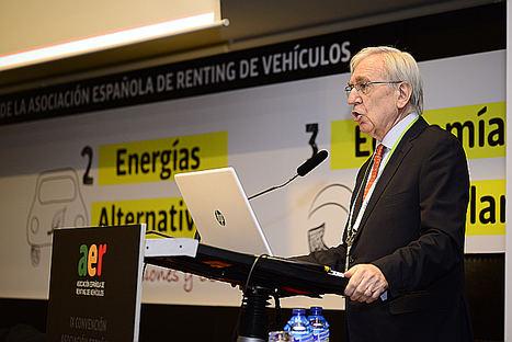 Agustín García, presidente de la Asociación AER.