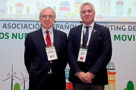 Agustín Garcia y Pablo Altozano.