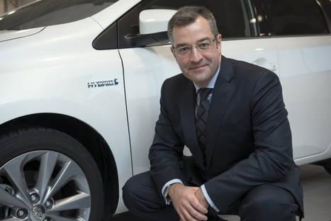 Agustín Martín, Presidente y CEO de Toyota España.