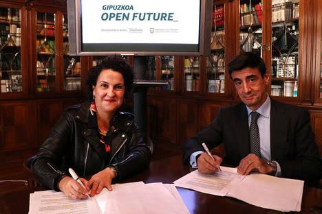 """Diputación y Telefónica se alían en Gipuzkoa Open Future_ para impulsar el talento y el emprendimiento en los """"sectores de futuro"""""""