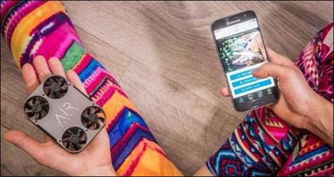 AirSelfie2, la mejor cámara aérea para smartphones, aterriza en España