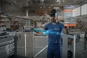 Airbus vuela más alto con ayuda de la tecnología de realidad mixta de Microsoft