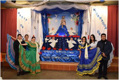 La Embajada de Nicaragua celebra en Madrid la tradicional fiesta religiosa, La Purisima