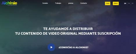 Alchimie se asocia con Zinet Media para co-publicar un canal de su revista en VOD