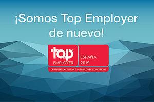 ALD Automotive recibe la certificación Top Employer España 2019