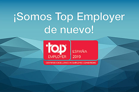 ALD Automotive recibe la certificación Top Employer España 2019