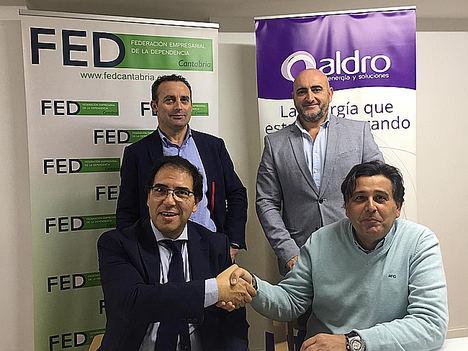 Aldro Energía y Enertec Control acuerdan con la FED Cantabria incorporar Go2Global en cinco residencias