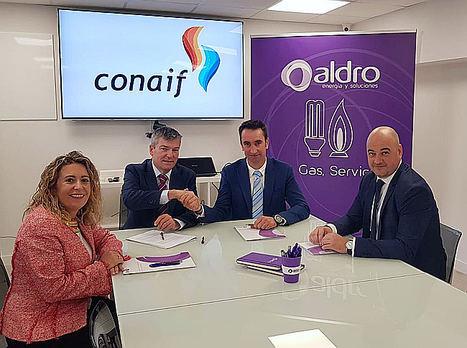 Aldro firma un acuerdo con Conaif para la comercialización de su marca
