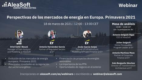 AleaSoft: Financiación, regulación y oportunidades internacionales para las empresas renovables españolas