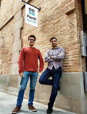 Aleix de Castellar y Ruben Vilar. Fundadores de MyPoppins.