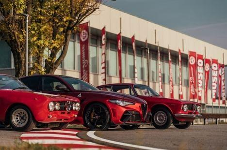 Feliz cumpleaños, Alfa Romeo