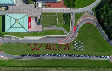 Alfa Romeo celebra su 111 Aniversario junto a sus fans