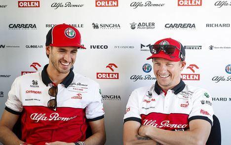Kimi Räikkönen y Antonio Giovinazzi correrán con el equipo Alfa Romeo Racing ORLEN en 2021