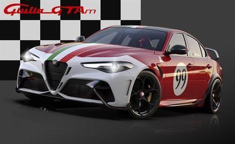 Nuevas carrocerías para el Alfa Romeo Giulia GTA
