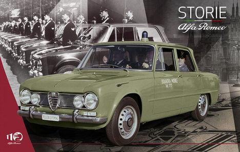 Las berlinas deportivas de Alfa Romeo al servicio de la ley