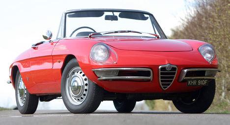 Alfa Romeo Duetto, la 'araña' italiana que conquistó Hollywood