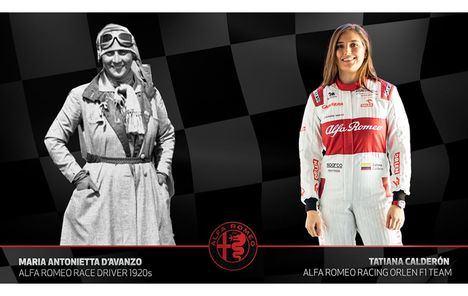 Alfa Romeo rinde tributo a las mujeres pilotos de carreras