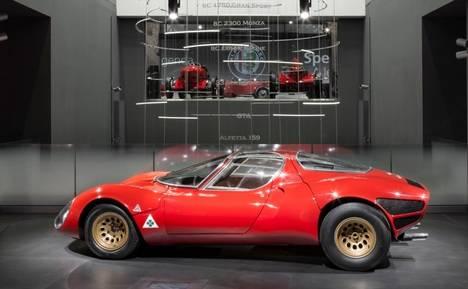 Alfa Romeo celebra el 50 aniversario del legendario 33 Stradale
