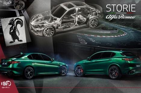 Los Alfa Romeo Giulia y Stelvio representan 110 años de excelencia italiana