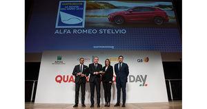 """Alfa Romeo Stelvio """"Nuevo Coche del Año 2018"""" por la revista Quattroroute"""
