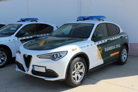 La Guardia Civil adquiere Alfa Romeo Stelvio q4