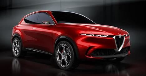 Preestreno del Concept Car Alfa Romeo Tonale