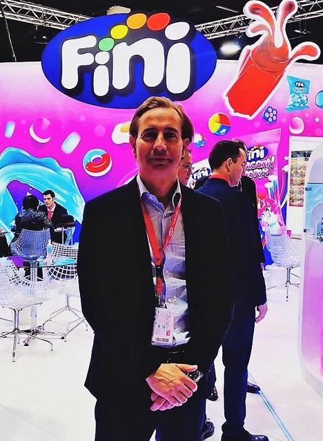Alfonso Samper,  director general de Fini Golosinas.