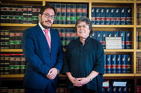 Alfredo Bayón y Marta Cortés, Socios de fjma dvocats.