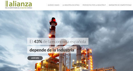 La industria con la sociedad española