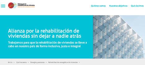 Nace la Alianza por la rehabilitación de viviendas sin dejar a nadie atrás