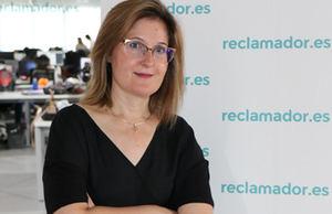 Almudena Velázquez, reclamador.es.