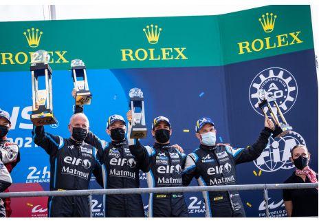 Alpine sube al podio en Le Mans