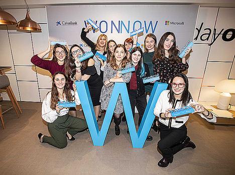 Alumnas ganadoras I Edición Premios WONNOW.