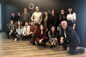 Alumnos CEU Publicis Proyecto Ruavieja.