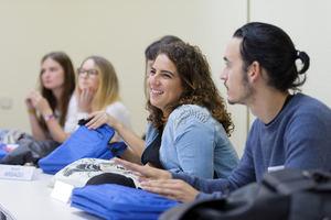 Alumnos de ESCP Business School- Madrid Campus.